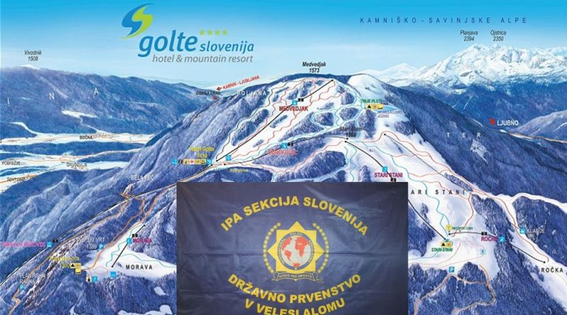 Vabilo na VIII. državno prvenstvo IPA sekcije Slovenije v veleslalomu Golte 2020