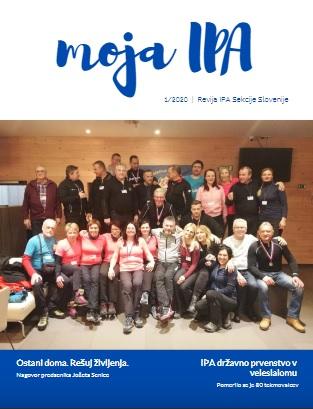 IPA sekcija Slovenija je izdala novo prenovljeno revijo Moja IPA