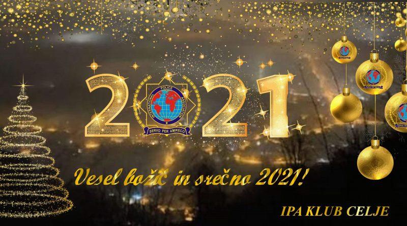 Vesele božične praznike in srečno 2021!