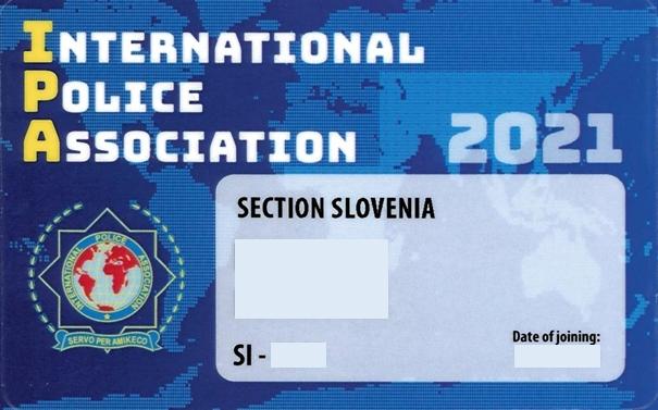 Nove članske izkaznice in nalepke IPA 2021
